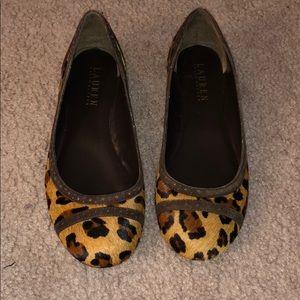 709233fb8e5 Ralph Lauren leopard print flats